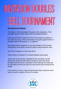 BELL TOURNAMENT RULES