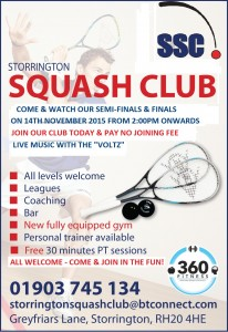 Storrington Squash Club 14TH
